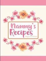 Nanny's Recipes Dogwood Edition