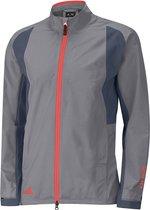 Adidas Golf Jack Paclite Gore-tex Lange Rits Heren Grijs Mt S