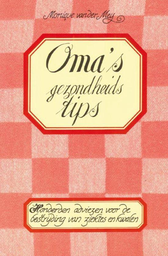 Oma's gezondheidstips (set van 3) - Monique van der Meij | Fthsonline.com