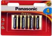 Panasonic C Cell batterij LR14PPG4BW (4 stuks)