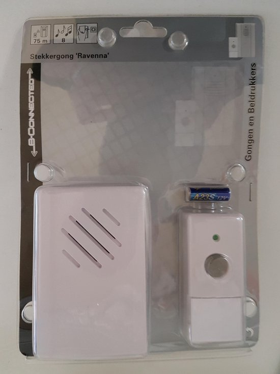 Draadloze stekker gong (deur bel)
