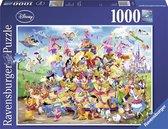 Ravensburger puzzel Disney Carnival - Legpuzzel - 1000 stukjes
