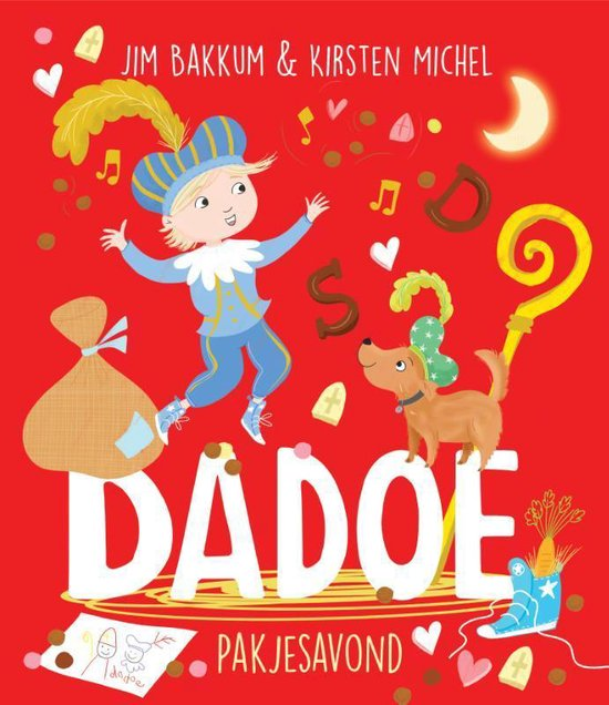 Boek cover Dadoe  -   Pakjesavond display 10 ex van Jim Bakkum (Hardcover)