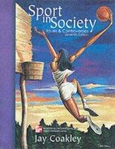 Boek cover Sport in Society van Jay J. Coakley