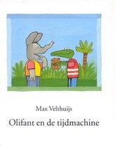 Boek cover Olifant en de tijdmachine van Max Velthuijs