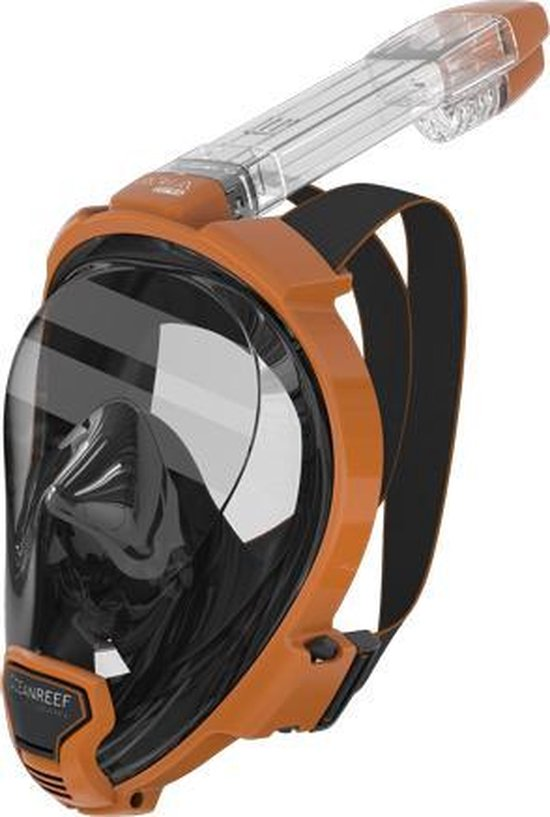 Ocean Reef Aria QR+ Snorkelmasker - Oranje - Large