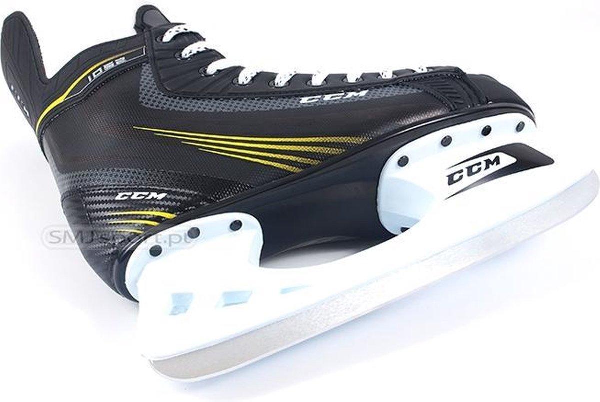 CCM Schaats - SK CCM Tacks 1052 Senior Ijshockeyschaats - Maat 45 - Zwart/Geel/Wit