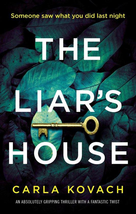 Boek cover The Liars House van Carla Kovach (Onbekend)
