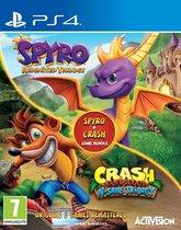 Crash Bandicoot N.Sane Trilogy & Spyro Reignited Double Pack Bundle - PS4