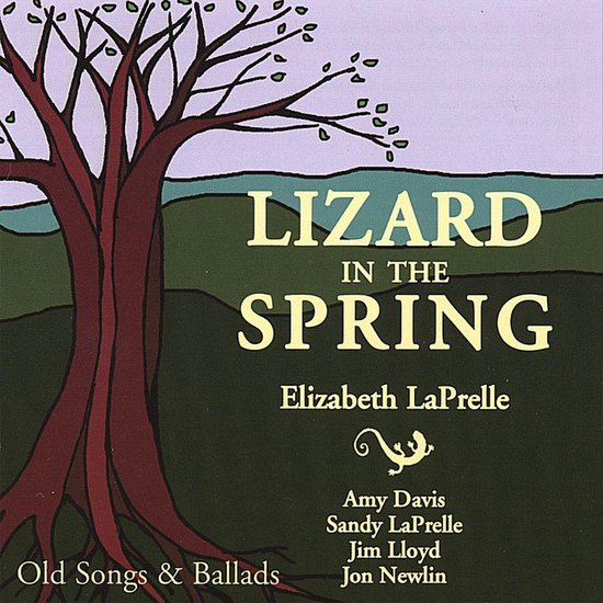 Lizard in the Spring