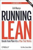 Boek cover Running Lean van Ash Maurya (Paperback)