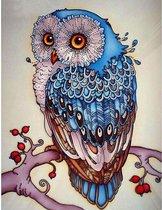 Diamond Painting - Uil - 25 x 30 cm - Maak de mooiste schilderijen helemaal zelf
