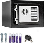 Elektrische Kluis - Elektronische Safe Digitale Geldkluis Elektronisch Sleutel Cijferslot