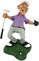 beroepen beeldje golfer hole in one Warren Stratford