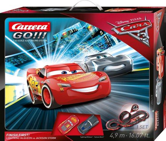 Bol Com Carrera Go Disney Cars 3 Finish First Racebaan