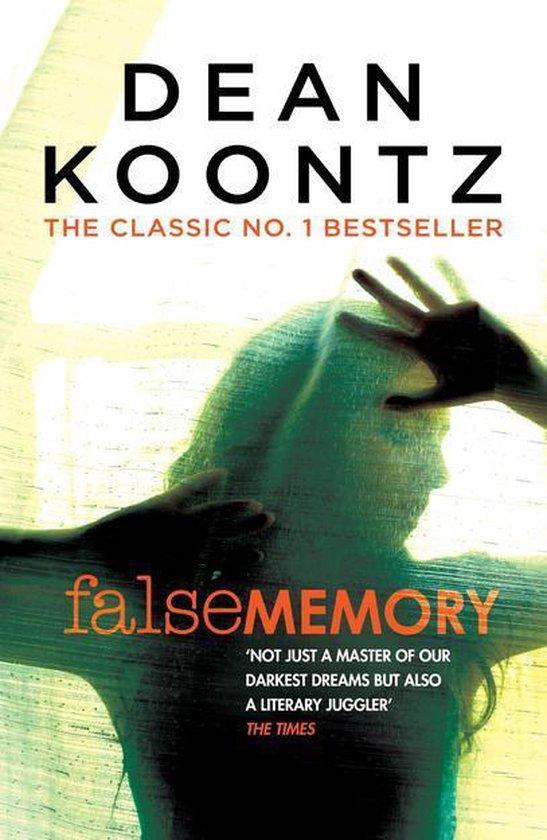 Boek cover False Memory van Dean Koontz (Onbekend)