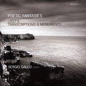 Poetic Fantasies - Liszt's Transcriptions & Monume
