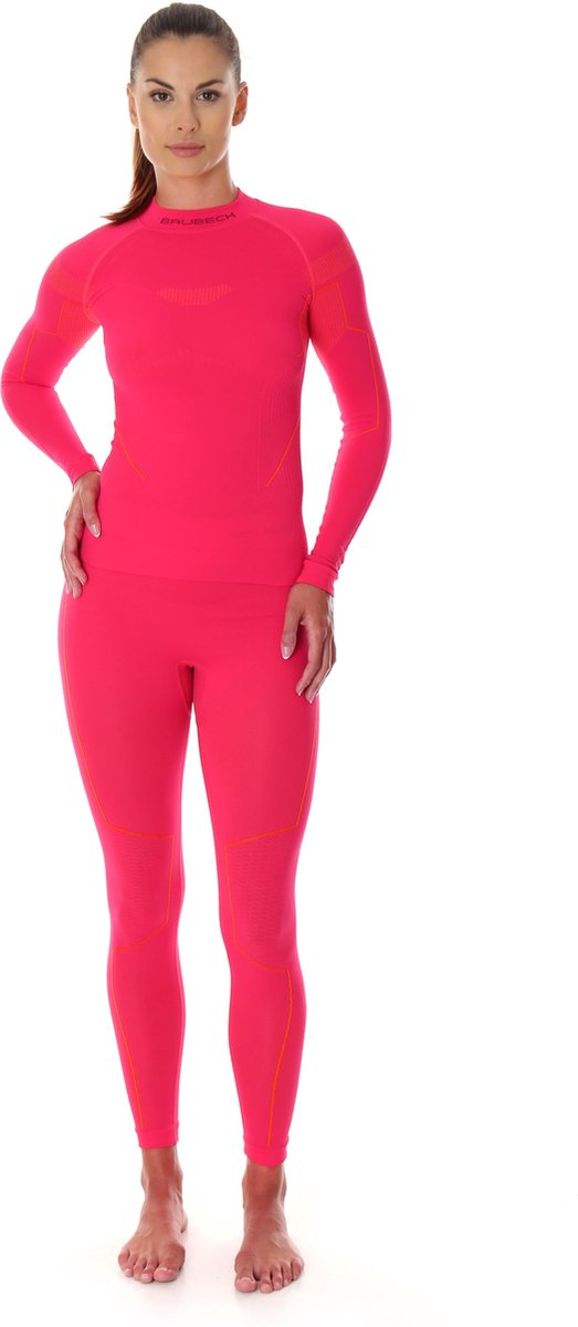 Dames Thermo Set - Thermokleding - met Nilit® Innergy-Raspberry-L