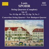 Spohr: String Quartets Vol.15