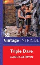 Omslag Triple Dare (Mills & Boon Vintage Intrigue)