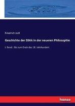 Geschichte der Ethik in der neueren Philosophie