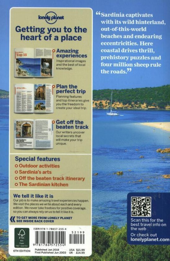 Lonely Planet Sardinia - Lonely Planet