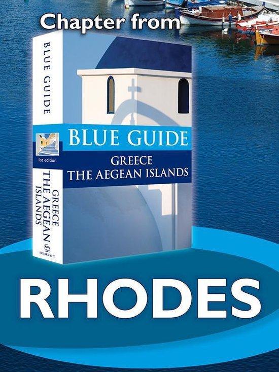 Boek cover Rhodes - Blue Guide Chapter van Nigel Mcgilchrist (Onbekend)