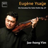 Six Sonatas For Solo Violin Op.27