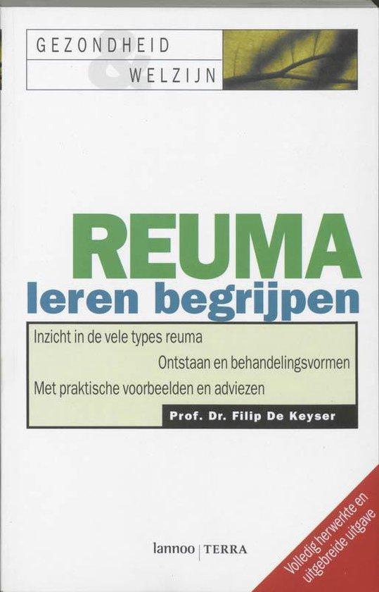 Cover van het boek 'Reuma leren begrijpen'