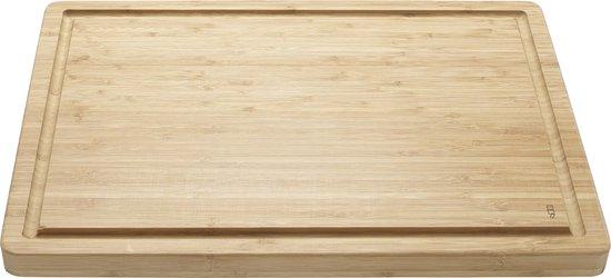 Point-Virgule Snijplank - Vleesplank met Sapgeul - Dubbelzijdig - 51 x 35.5 x 3cm