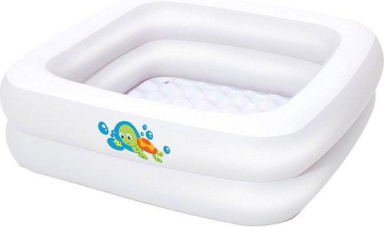 Bestway - Babyzwembad met Opblaasbare Bodem - 86 x 86 x 25 cm