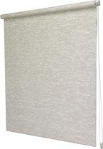 Intensions-Easy Rolgordijn Lichtdoorlatend-Structuur-Natuur Creme-45x170cm