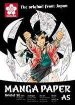 Sakura Manga schetsboek - A5 - wit - FSC mix
