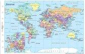 Filofax Wereldkaart