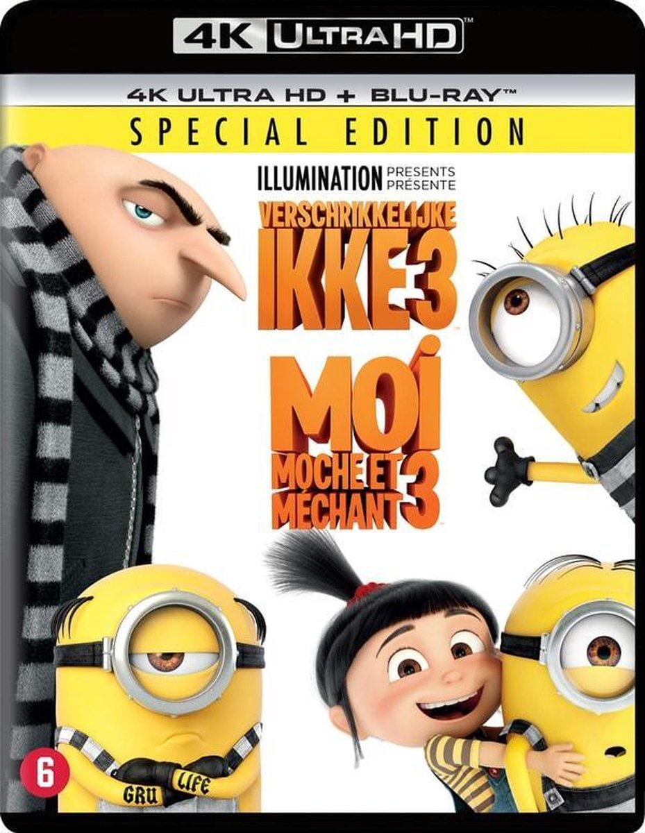 Verschrikkelijke Ikke 3 (4K Ultra HD Blu-ray)-