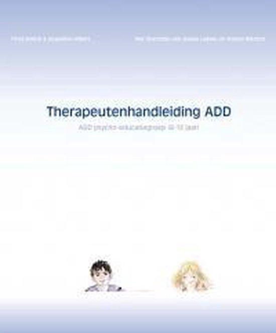 Therapeutenhandleiding ADD - Tirtsa Ehrlich |