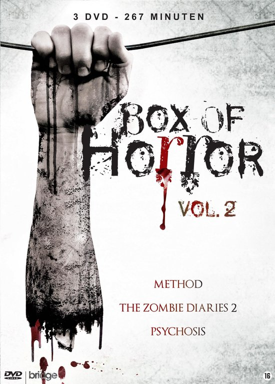 Cover van de film 'Box Of Horror - Volume 2'