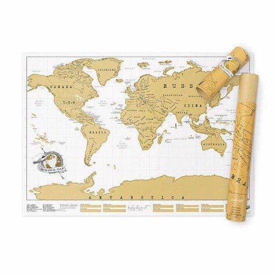 Luckies Wereldkaart Scratch Map - Kraskaart regular edition