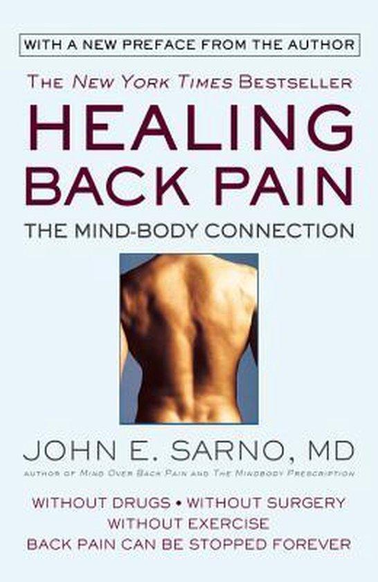 Boek cover Healing Back Pain van John E. Sarno M.D. (Paperback)