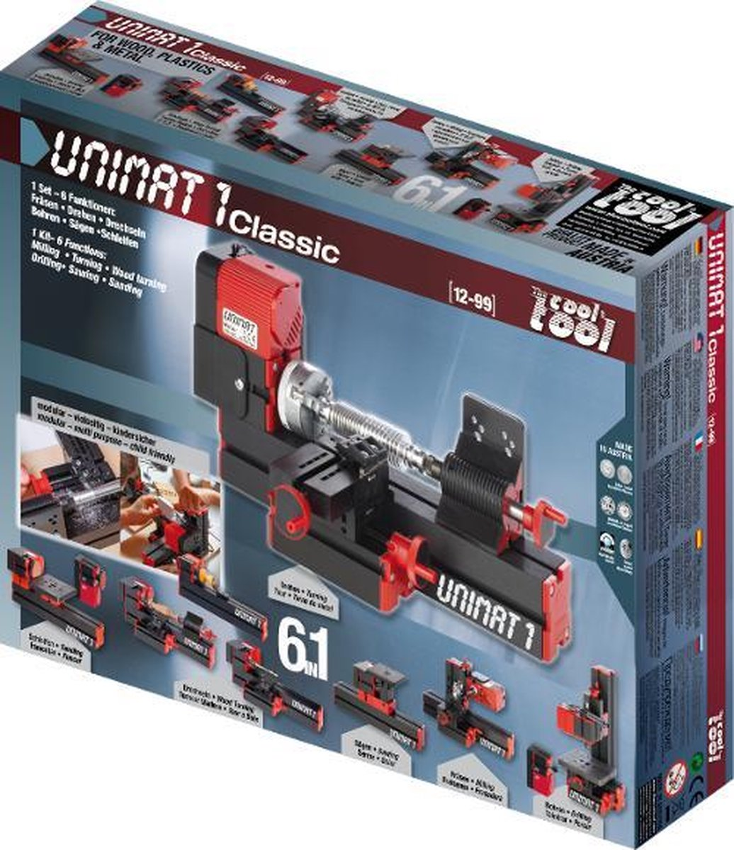 TheCoolTool UNIMAT 1 Classic 6-1 Hobby en Modelbouw machine