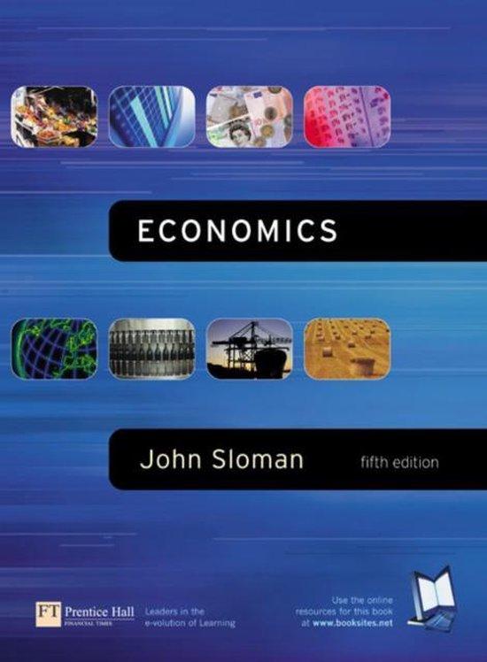Boek cover Economics van John Sloman (Paperback)