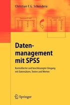 Datenmanagement MIT SPSS
