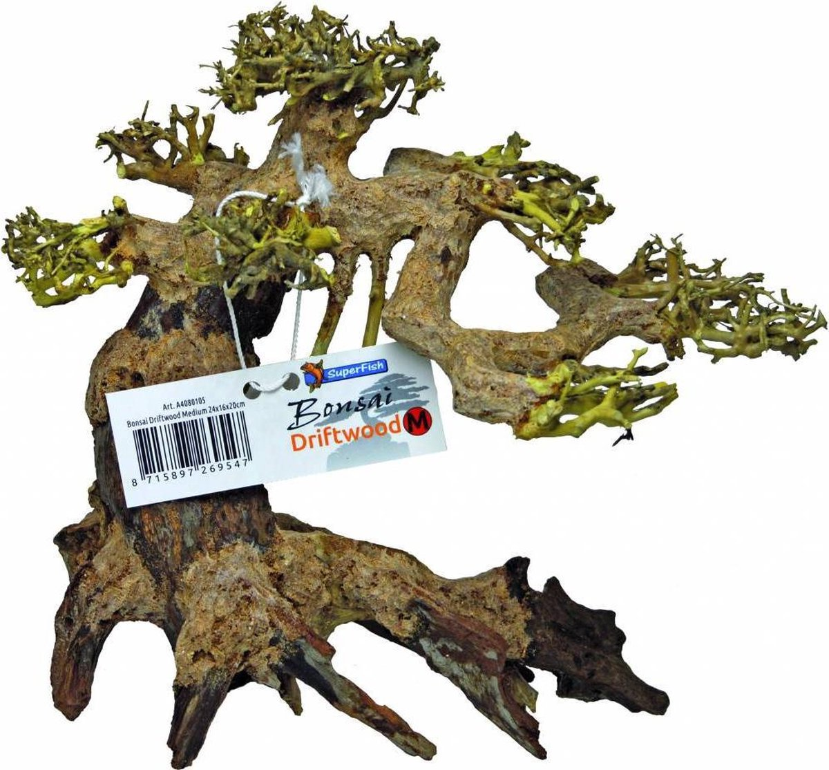Superfish Bonsai Driftwood Aquariumdecoratie Medium Bol Com