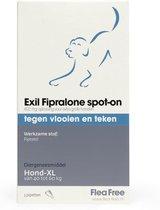 Exil flea free spot-on 40 tot 60 kg - 1 st à 3 Pipetten