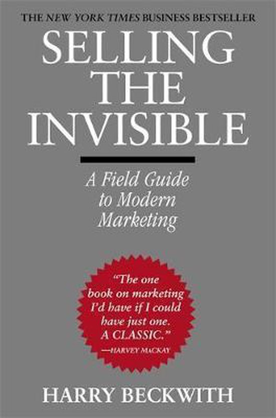 Boek cover Selling The Invisible van Harry Beckwith (Paperback)