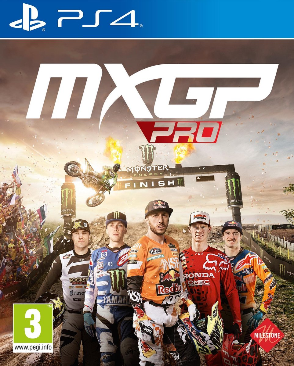 MXGP Pro - PS4 - Milestone