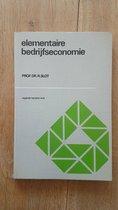Boek cover Elementaire bedryfseconomie van Slot