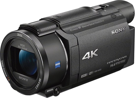 Sony FDR-AX53 - Camcorder -Zwart