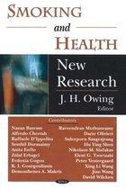 Boek cover Smoking & Health van J. H. Owing