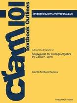 Studyguide for College Algebra by Coburn, John
